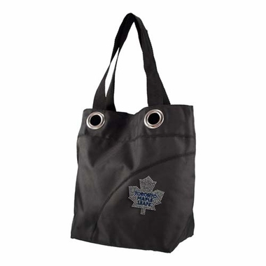 Toronto Maple Leafs Sport Noir Sheen Tote