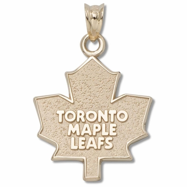 Toronto Maple Leafs Sterling Silver Pendant