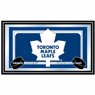 Toronto Maple Leafs Team Logo Bar Mirror