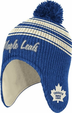 Toronto Maple Leafs Trooper Classic Retro Pom Hat