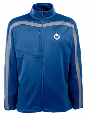 Toronto Maple Leafs Mens Viper Full Zip Performance Jacket (Team Color: Royal)