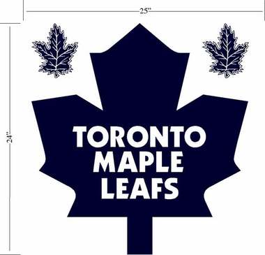 Toronto Maple Leafs Wallmarx Large Wall Decal