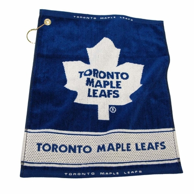 Toronto Maple Leafs Woven Golf Towel