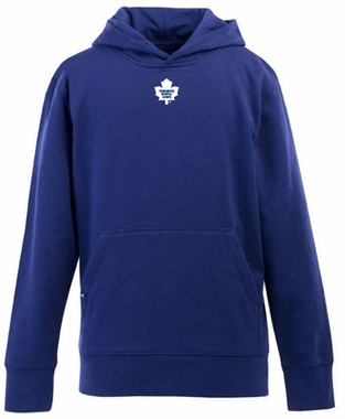 Toronto Maple Leafs YOUTH Boys Signature Hooded Sweatshirt (Team Color: Royal)