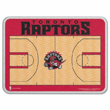 Toronto Raptors 11 x 15 Glass Cutting Board