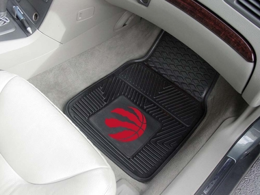 Toronto Raptors 2 Piece Heavy Duty Vinyl Car Mats