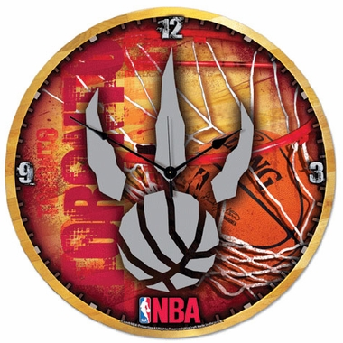 Toronto Raptors Big 18 Inch Hi Definition Clock