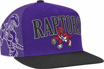 Toronto Raptors Double Graphic Laser Stitched Snap Back Hat