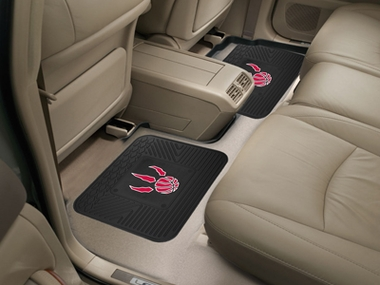 Toronto Raptors SET OF 2 Heavy Duty Vinyl Rear Car Mats