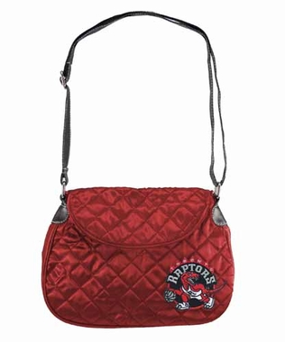 Toronto Raptors Quilted Saddlebag