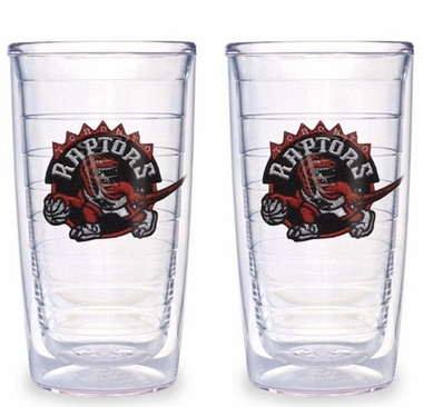 Toronto Raptors Set of TWO 16 oz. Tervis Tumblers