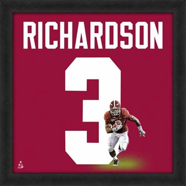 "Trent Richardson, Alabama Crimson Tide UNIFRAME 20"" x 20"""