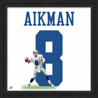 "Troy Aikman, Cowboys UNIFRAME 20"" x 20"""