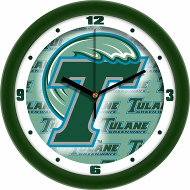 Tulane Dimension Wall Clock