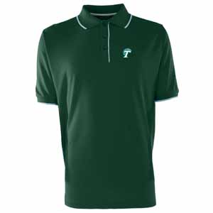 Tulane Mens Elite Polo Shirt (Team Color: Green) - Large