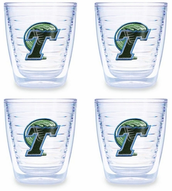 Tulane Set of FOUR 12 oz. Tervis Tumblers