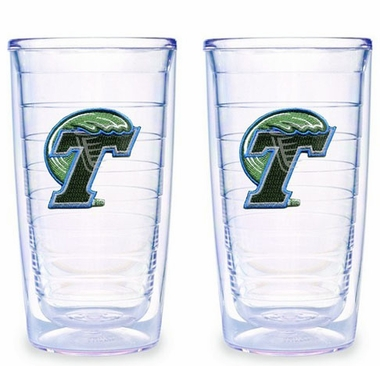 Tulane Set of TWO 16 oz. Tervis Tumblers