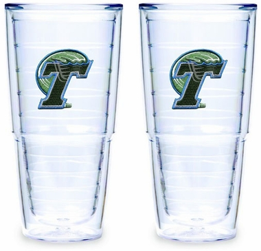 Tulane Set of TWO 24 oz. Tervis Tumblers