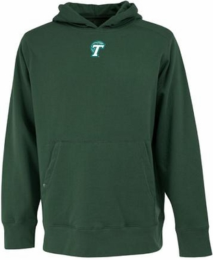 Tulane Mens Signature Hooded Sweatshirt (Team Color: Green)