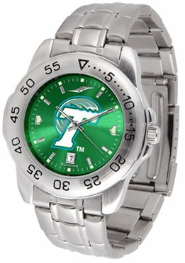 Tulane Sport Anonized Men's Steel Band Watch