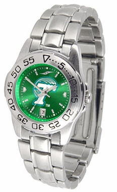 Tulane Sport Anonized Women's Steel Band Watch