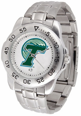 Tulane Sport Men's Steel Band Watch