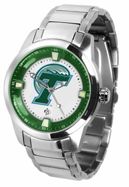 Tulane Titan Men's Steel Watch