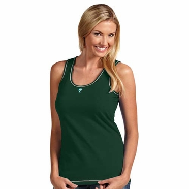 Tulane Womens Sport Tank Top (Team Color: Green)