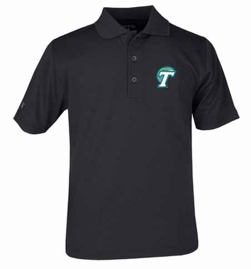 Tulane YOUTH Unisex Pique Polo Shirt (Team Color: Black)