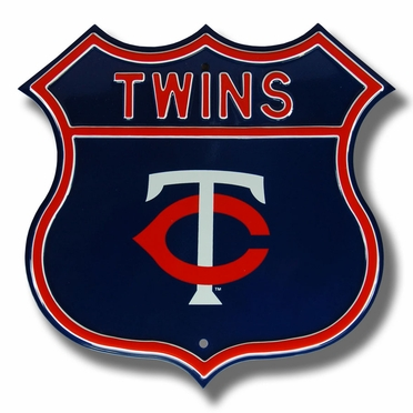 Twins / 1 Route Sign