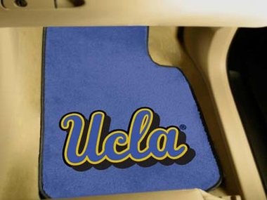 UCLA 2 Piece Car Mats
