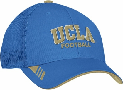 UCLA Adidas Player Mesh Back Flex Hat