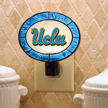 UCLA Art Glass Night Light