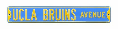 UCLA Bruins Ave Street Sign