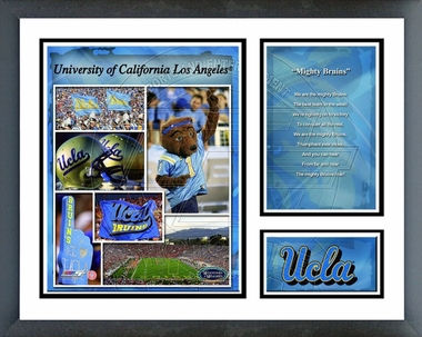 UCLA Bruins Framed Milestones & Memories