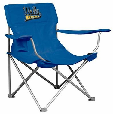 UCLA Canvas Adult Folding Logo Chair
