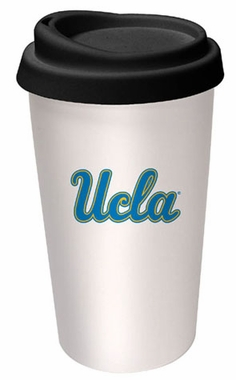 UCLA Ceramic Travel Cup
