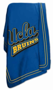 UCLA Classic Fleece Throw Blanket