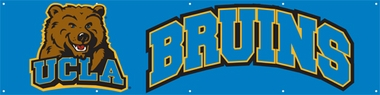 UCLA Eight Foot Banner