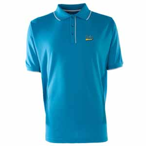 UCLA Mens Elite Polo Shirt (Team Color: Aqua) - Small