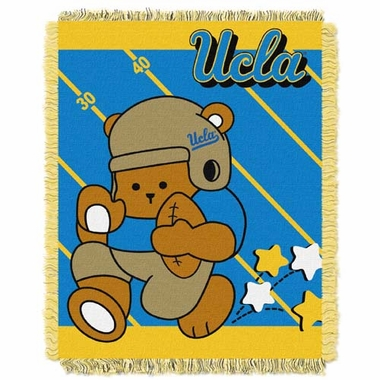 UCLA Jacquard BABY Throw Blanket