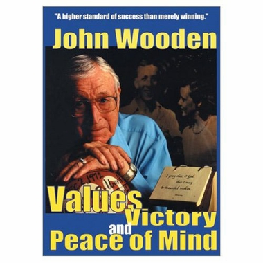 UCLA John Wooden - Values, Victory and Peace of Mind DVD