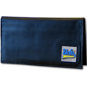 UCLA Leather Checkbook Cover (F)