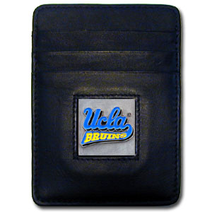 UCLA Leather Money Clip
