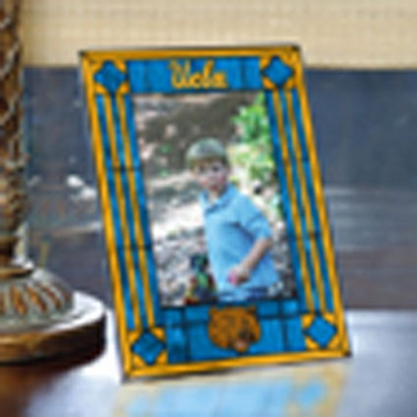 UCLA Portrait Art Glass Picture Frame