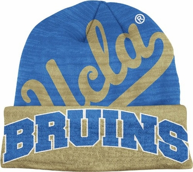 UCLA Slanted Logo Cuffed Knit Hat