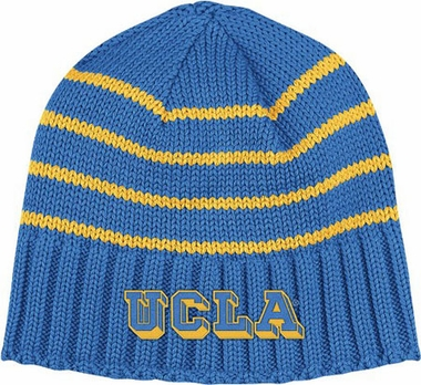 UCLA Vault Striped Cuffless Knit Hat