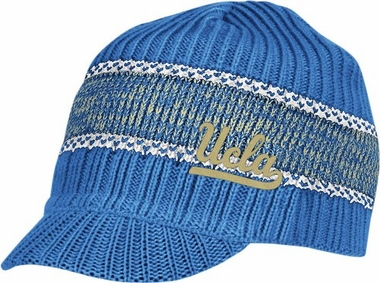UCLA Visor Knit Hat