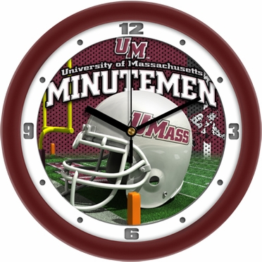 Umass Helmet Wall Clock