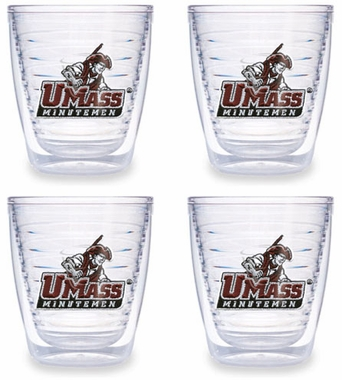 Umass Set of FOUR 12 oz. Tervis Tumblers